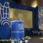 palco conferenza confindustria